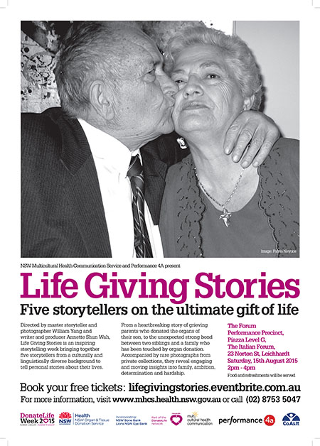 Poster for Life Giving Stories
