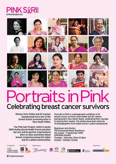 Poster for Pink Sari Project