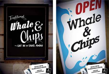 Whale n Chips for Sea Shepherd